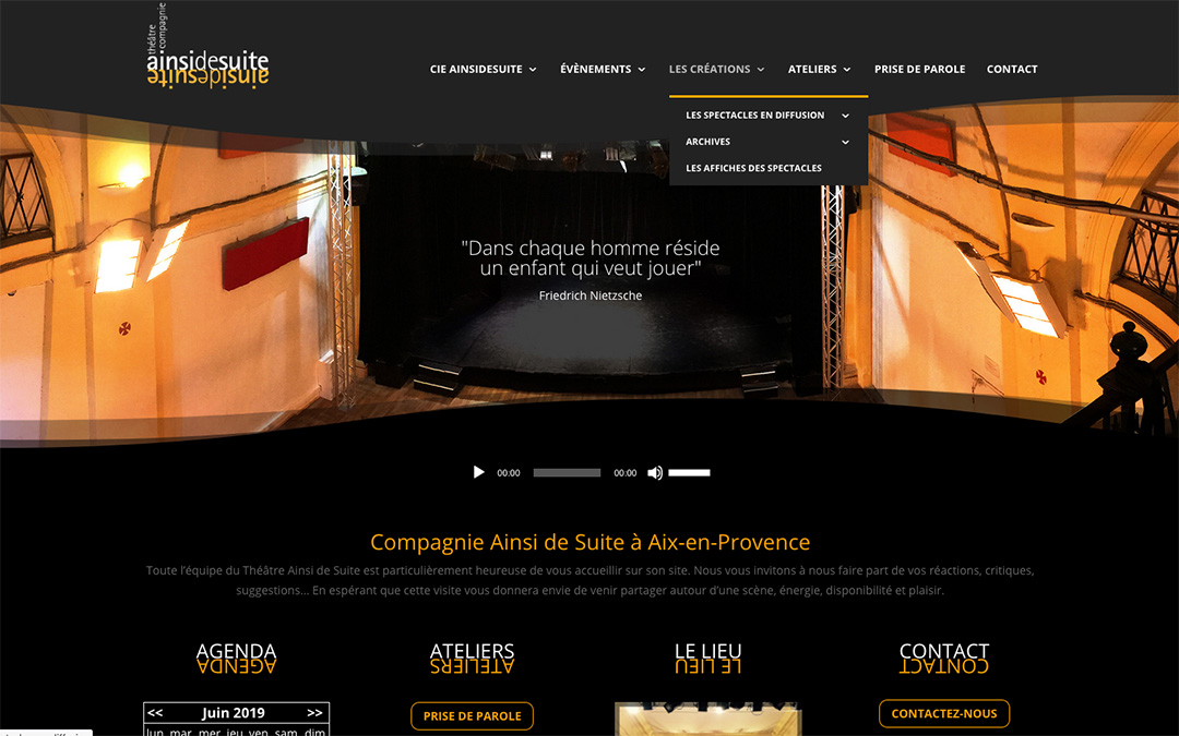 Nouveau site : www.ainsidesuite.com
